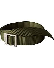 Mountain Khakis Olive Green Webbing Belt