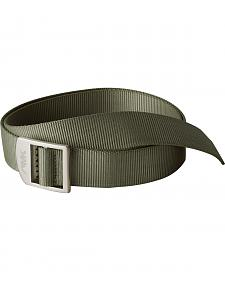 Mountain Khakis Green Webbing Belt