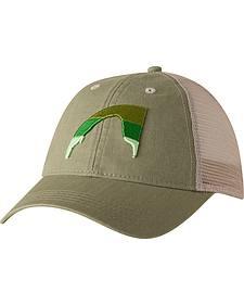 Mountain Khakis Green Sunset Peak Trucker Cap