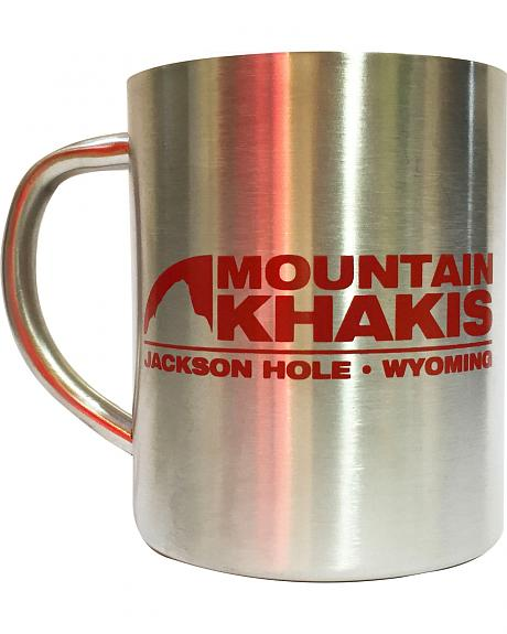 Mountain Khakis Stainless Steel Bison Coffee Cup