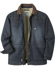 Mountain Khakis Men's Navy Ranch Shearling Jacket