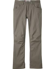 Mountain Khakis Men's Brown Camber 104 Hybrid Pants