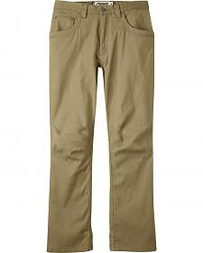 Mountain Khakis Men's Beige Camber 104 Hybrid Pants