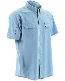 Huk Performance Fishing Men's Next Level Woven Short Sleeve Shirt