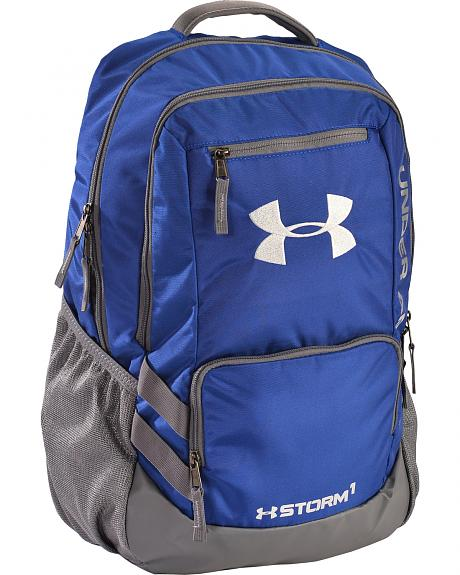 Under Armour Royal Blue Storm Hustle II Backpack