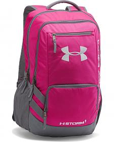 Under Armour Girls' Tropic Pink Storm Hustle II Backpack