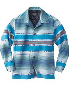 Pendleton Men's Blue Surf Shirt Wool Jacket