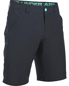 Under Armour Men's Black Surfenturf Stretch Shorts