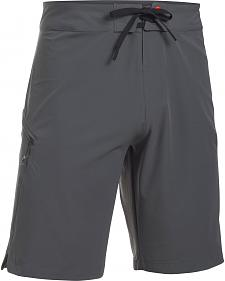 Under Armour Men's Grey Solid Board Short