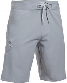 Under Armour Men's Light Grey Solid Board Short