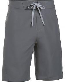 Under Armour Men's Charcoal Grey Mania Board Shorts