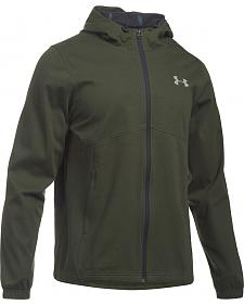 Under Armour Men's Green Storm Spring Swacket Hoodie