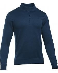 Under Armour Men's Navy Storm Sweater Fleece 1/4 Zip Pullover