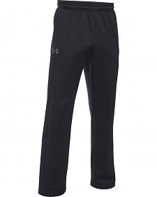Under Armour Men's Black Storm Armour® Fleece Pants