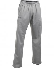 Under Armour Men's Grey Storm Armour® Fleece Pants
