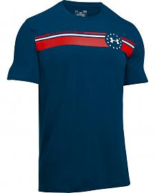 Under Armour Men's Navy 4th of July T-Shirt