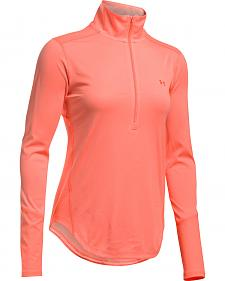 Under Armour Women's Coral Coolswitch Thermocline 1/4 Zip Pullover