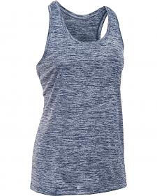 Under Armour Women's Navy Tech? Twist Tank Top