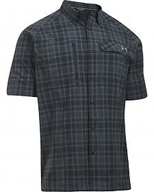 Under Armour Men's Charcoal Grey Fish Hunter Shirt