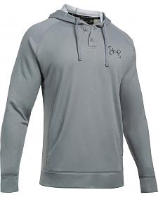 Under Armour Men's Grey Shoreline Hoodie