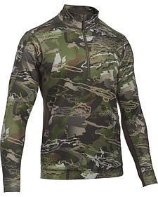 Under Armour Men's Camouflage Microthread Fleece 1/4 Zip Pullover