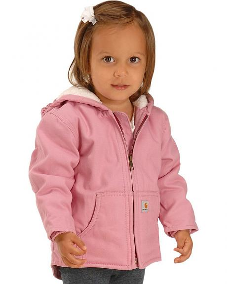 Carhartt Girls' Sherpa Jacket - 2T - 4T