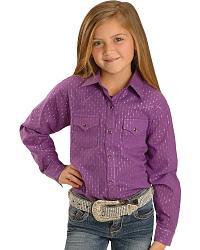Purple and Silver Western Shirt at Sheplers