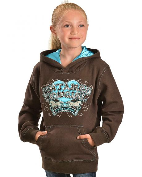 Cowgirl Hardware Untamed Cowgirl Pullover Hoodie - 5-16