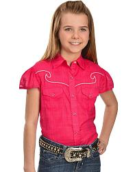 Girls Western Tops
