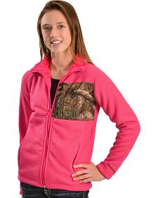 Browning Youth Pink and Camo Jacket