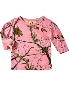 Bell Ranger Lil' Joey Infant Girls' Long-Sleeve Camo Shirt