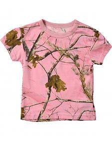 Infant Girls' Pink Realtree Tee