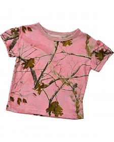Toddler Girls' Pink Realtree Tee