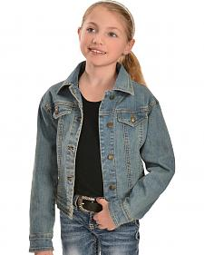 Wrangler Girls' Denim Jean Jacket