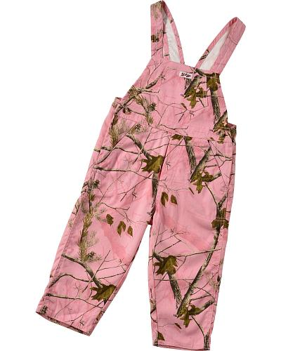 Bell Ranger Lil Joey Toddler Girls Pink Realtree Camo Bib Overalls Western & Country 490PM