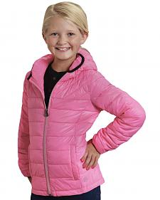 Roper Girls' RangeGear Crushable Hooded Jacket