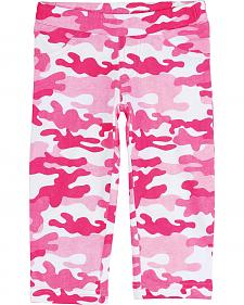 Wrangler Infant Girls' Pink Camo Leggings