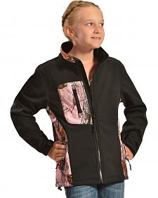 Red Ranch Pink Camo Bonded Jacket
