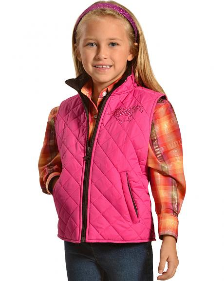 Horse and Heart Poly Fill Vest