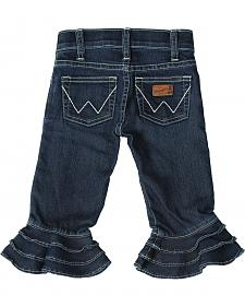 Wrangler Toddler Girls' Denim Jeans with Ruffles