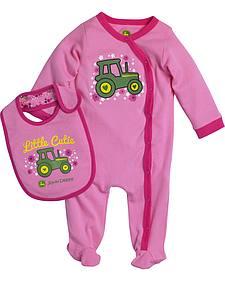 John Deere Infant Girls' Little Cutie Set