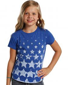 Rock and Roll Cowgirl Youth Stars T-Shirt