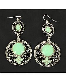 Blazin Roxx Turquoise Drop Earrings