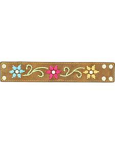 Blazin Roxx Embroidered Cuff Bracelet