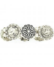 Blazin Roxx Fancy Concho Stretch Bracelet