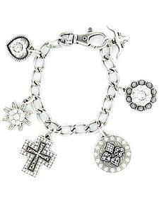 Blazin Roxx Western Charm Bracelet