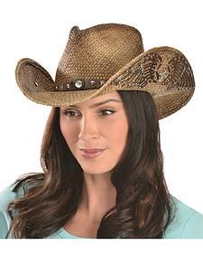 Bullhide Western Inspiration Straw Cowgirl Hat