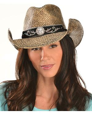 Bullhide Tennessee River Straw Cowgirl Hat