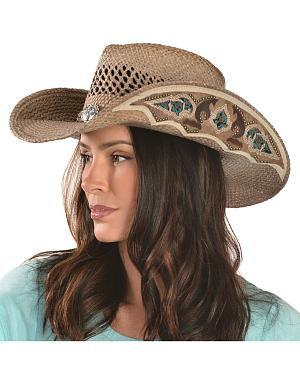 Bullhide From the Heart Straw Cowgirl Hat