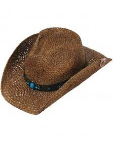Peter Grimm Women's Liberty Straw Cowgirl Hat